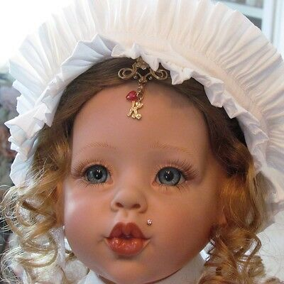 OOAK Limited Edition 1994 Fayzah Spanos *Kisses* Vinyl Li'l Sis Virginia Turner