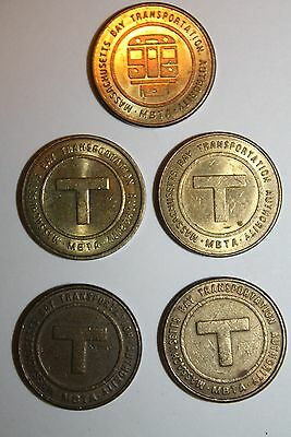 "200 Boston Transit Tokens""100 MTA"" &""100 MBTA"".$75.00 ""ONLY 2 SETS LEFT !!!"
