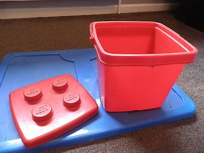 Red Lego Bucket (Bucket Only)