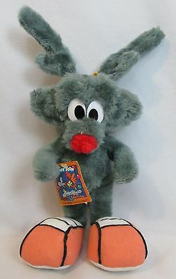 Vintage Tiny Toon Adventures Calamity Coyote Plush Tagged Ace Novelty RARE 1992