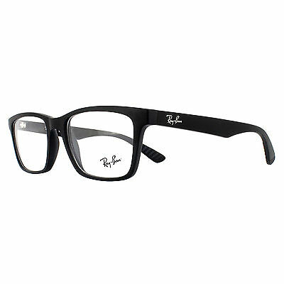 Ray-Ban Glasses Frames 7025 2077 Matte Black Men 53mm