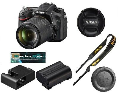 Sale Nikon D7200 24.2Mp Digital Slr Camera + Nikkor 18-140mm Lens Retail Box