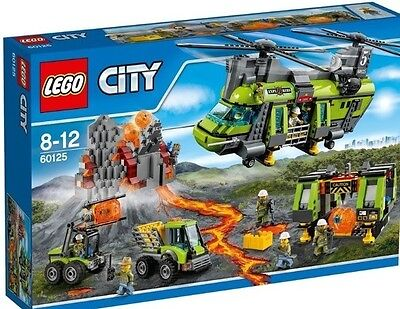 LEGO City Volcano Heavy-lift Helicopter 60125 new and sealed