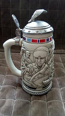 Avon Tribute to the American Armed Forces Stein Ceramic Numbered
