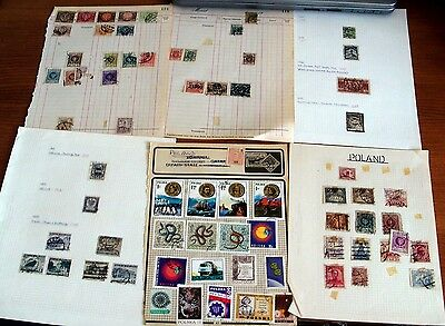 260+ Poland Stamps, Much Older Seen, Mint & Used, Good Selection & Sets.