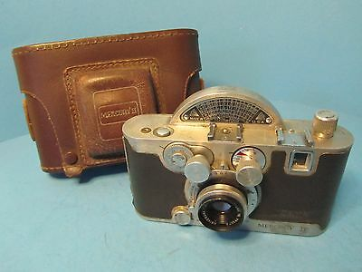 VINTAGE 35mm MERCURY II CX CAMERA WITH LEATHER CASE