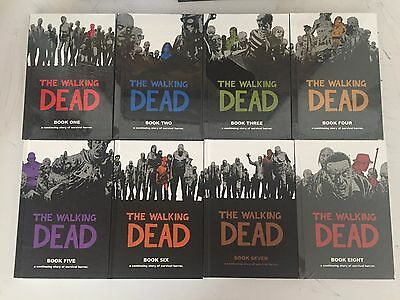 The Walking Dead Hardcover Lot Volumes 1-8 Graphic Novel HC Comic Book