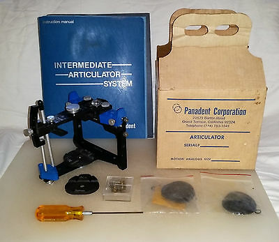 Panadent PCL Articulator | Incl. Manual and Accessories