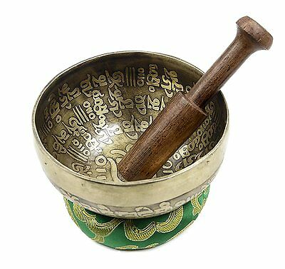 Handmade Meditation Singing Bowl for Relaxation and Healing- SPANTIQUE-1 B29
