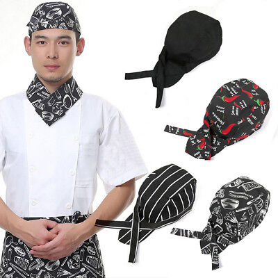 New Pirates Cap Professional Cook Catering Baker Waiter Various Kitchen Chef Hat