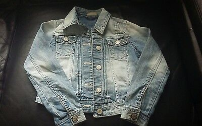 Girls Denim Jacket from Next - Age 8 years