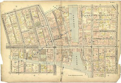 1900 CITY ROCHESTER NEW YORK NY plat maps atlas GENEALOGY history LAND OWNER T11