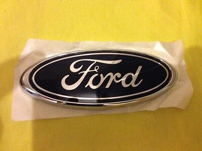 Ford Fiesta Mk6 Rear Badge Oval New Genuine Ford  (Free Post)