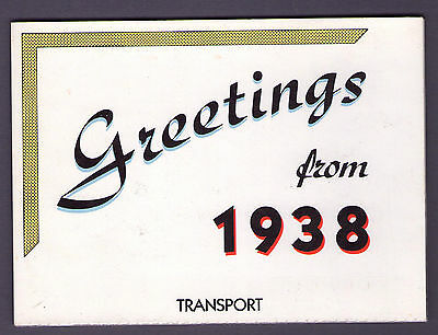 Greetings from 1938 Transport Booklet B1