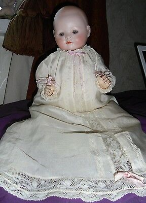 Gorgeous 17 Inch Recknagel Mold 138 Closed Mouth Baby.