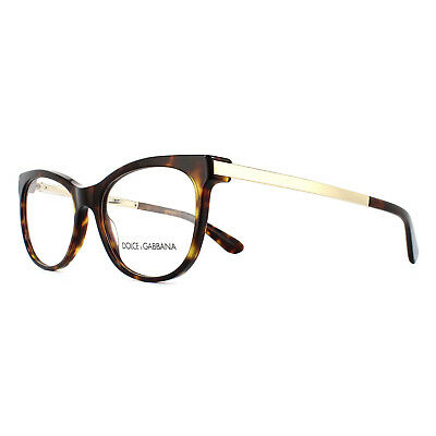 b9a51173a27 DOLCE AND GABBANA Glasses Frames 3234 502 Dark Havana Womens 54mm ...