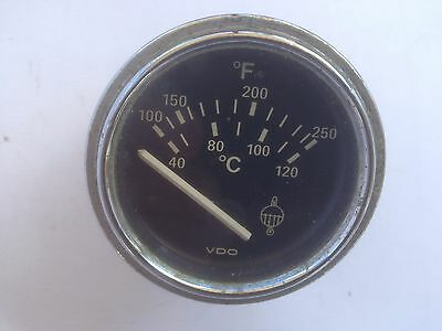 VDO Water Temperature Gauge 52mm VW Audi BMW Mercedes Triumph MG Ford Mini