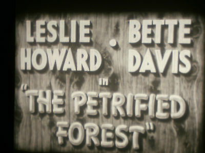 """16mm feature """"THE PETRIFIED FOREST"""" Betty Davis 2x1600'' Approx. 80 min."""