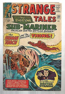 Strange Tales #125 (Oct 1964, Marvel Comics)