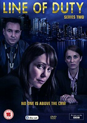 Line of Duty Series 2 [DVD] - DVD  6QVG The Cheap Fast Free Post