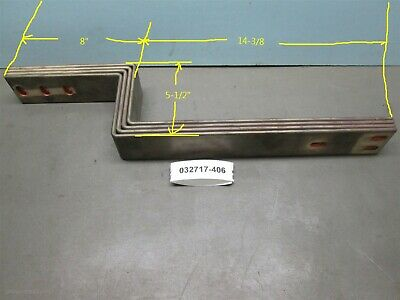 Lot of 4, Copper Main Buss Westinghouse 2500 Amp Disconnect Mounts