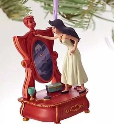 New Disney Store Sketchbook Ursula The Little Mermaid Christmas Ornament