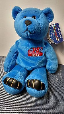 Doug Flutie, Celebrity Bean Bag Plush Bear, Number 7, Limited Treasures, New
