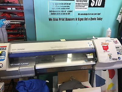 Roland SP-300v Wide Format Printer Cutter