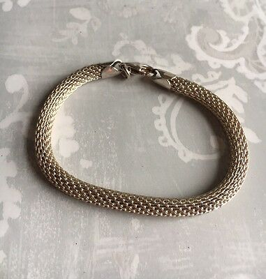 Sterling Silver 925 Bracelet Rope Style.