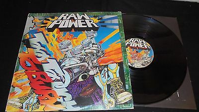 RAW POWER too tough to burn Lp vinyl 1st press ITALY 1993