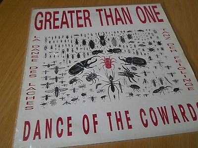 GREATER THAN ONE Dance Of The Cowards LP VINYL