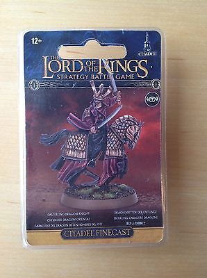 Games Workshop Lord Of The Rings Easterling Dragon Knight ( Damaged )