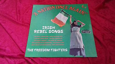 Irish Rebel Songs a nation once again the freedom fighters UK vinyl LP