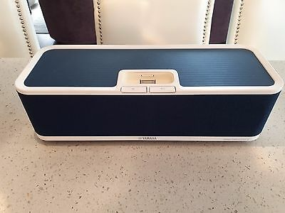 Yamaha Portable Music Player Dock PDX-30 for iPhone & iPod with Connector -White