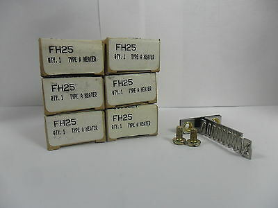 New Lot Cutler Hammer Overload  Heaters Element FH25 FH-25 Type A  NIB