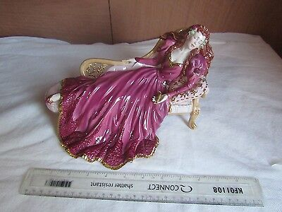 Franklin Mint Gerda Neubacher Sleeping Beauty Figurine,1989 Excellent Condition