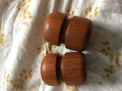 Vintage, retro 1970s salt and pepper set, very stylish