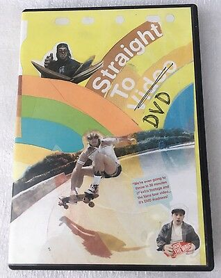 Straight To DVD  Skateboard Dvd Used Sk8,
