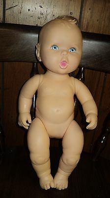 "HTF 1994 TOY BIZ Gerber Creations Full Vinyl 15"" Doll"