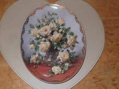 Princess Of Wales Rose Royal Worcester Limited Edition Plate