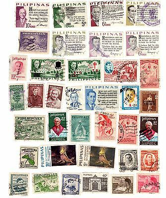 PHILIPPINES,  Lot of 67 differents used stamps..  ,........ Lot 170310