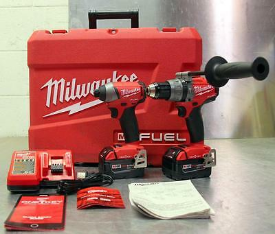 Milwaukee M18 Fuel 2796-22 2-Tool Impact Driver HammerDrill Combo Kit One Key