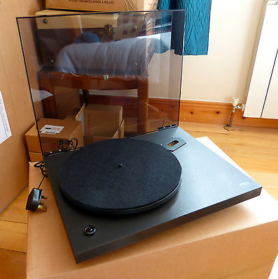 Rega Planar 3 Turntable With Glass Platter With Sme Hadcock Rega Mounting Plate