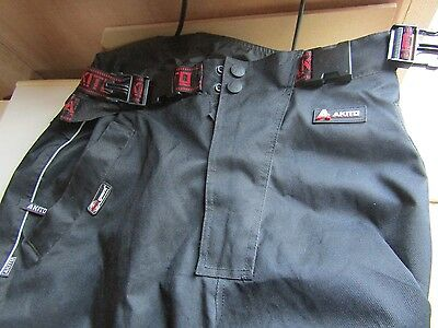 Ladies Akito Motorcycle Motorbike Trousers Size L, Great Condition