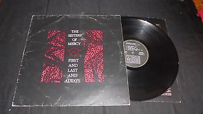 THE SISTERS OF MERCY first and last and always Lp vinyl 1st italian press 1985