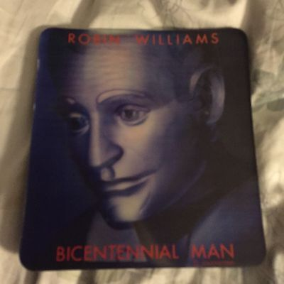 """Robin Williams """"Bicentennial Man"""" Movie Mousepad Mat From Touchstone Pictures"""