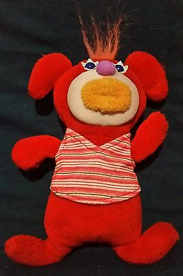 Fisher Price Sing-A-Ma-Jig Red Plush Interactive Singing Toy