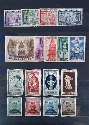 Luxembourg - 1945/1946 4 Series **