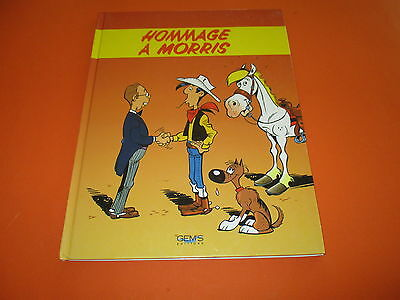 Bd Hommage A Morris, Lucky Luke, Collectif, Gem's Editions Eo Be