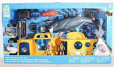 Animal Planet SEA LAB Playset NEW SEALED - GI Joe Adventure Team Adventurer Club
